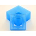 Вкладыш силиконовый текстурный Квадрат рамка
