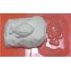 Форма пластиковая Рыбка на камне