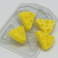 Форма пластиковая Сыр треугольный (4 мини)
