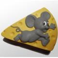 Форма силиконовая Мышка и сыр 2D