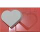 Форма пластиковая Просто сердце