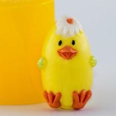 Форма силиконовая Цыпленок 3D