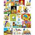 Водорастворимая картинка Симпсоны